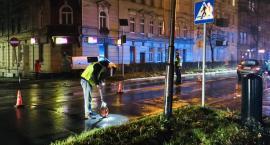 Potrącenie kobiety na Wojska Polskiego