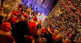 Na Placu Ratuszowym rozbłysła świąteczna choinka
