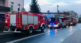 Pożar przy ul. Cieplickiej. Na miejscu 4 jednostki straży pożarnej