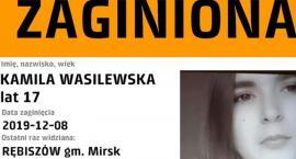 Zaginęła 17.letnia Kamila Wasilewska z Rębiszowa