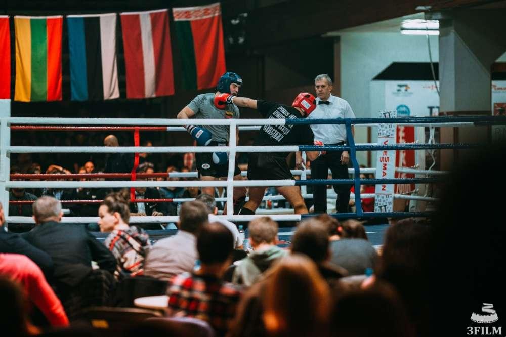 Kickboxing, Udany turniej Baltic - zdjęcie, fotografia