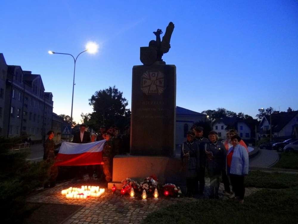 Uroczystości Obchody, Uczcili bohaterów Powstania Sejneńskiego - zdjęcie, fotografia