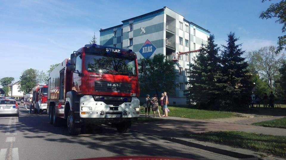 Sprawy kryminalne, żyje poszkodowana pożarze - zdjęcie, fotografia