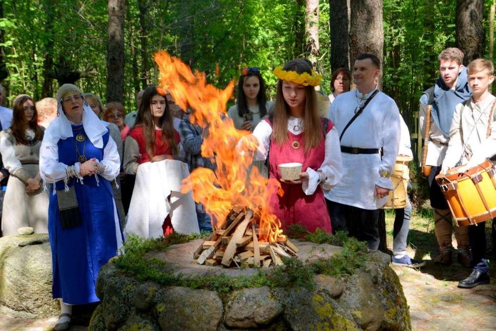 Relacje , Jaćwieska wiosna Oszkiniach - zdjęcie, fotografia