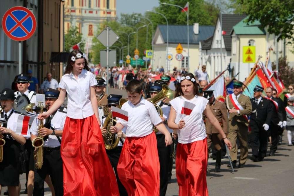 Uroczystości Obchody, Święto Konstytucji - zdjęcie, fotografia