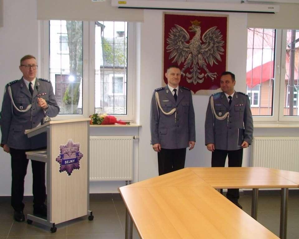 Biznes i Praca, Zmiana szefa sejneńskiej Policji - zdjęcie, fotografia