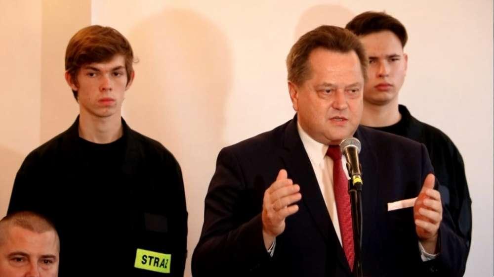Biznes i Praca, Minister Jarosław Zieliński wizytą Sejnach - zdjęcie, fotografia