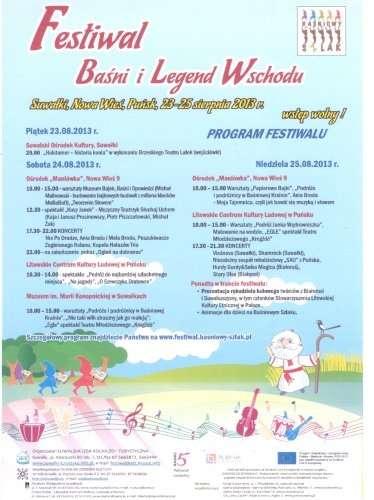 Biznes i Praca, Festiwal Baśni Legend Wschodu - zdjęcie, fotografia