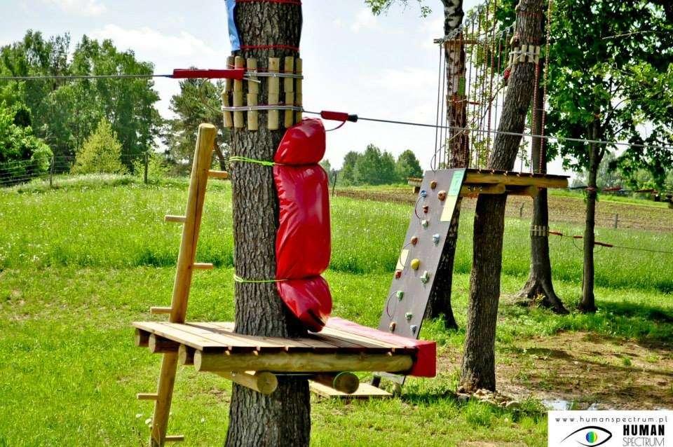 Biznes i Praca, linowy Burbiszkach ZDJĘCIA - zdjęcie, fotografia