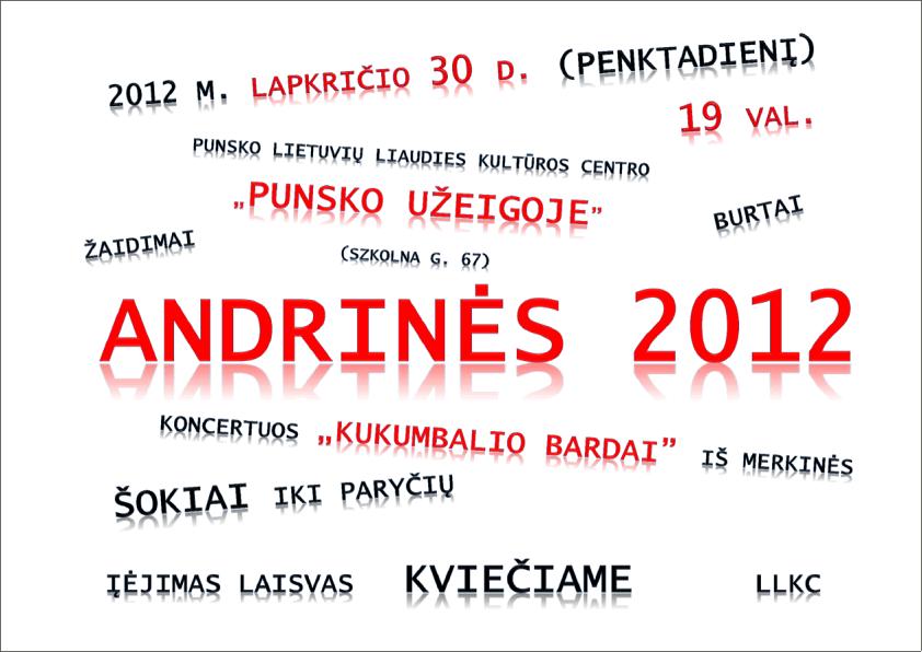 Biznes i Praca, Andrzejki Puńsku - zdjęcie, fotografia