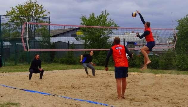 Siatkówka, Grand siatkówce plażowej - zdjęcie, fotografia