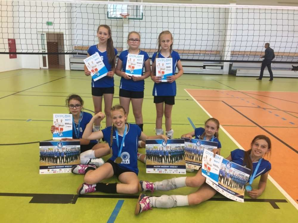 Siatkówka, Wygrany finał województwa Kinder Sport - zdjęcie, fotografia