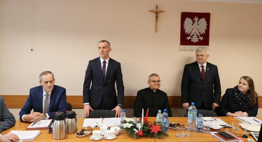 Samorząd, Świąteczna sesja Powiatu Sejnach - zdjęcie, fotografia