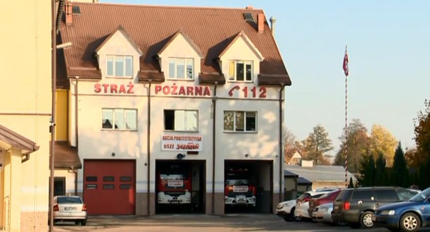 Interwencje straży i pożary, Spokojne święta Sylwestrowa strażaków - zdjęcie, fotografia