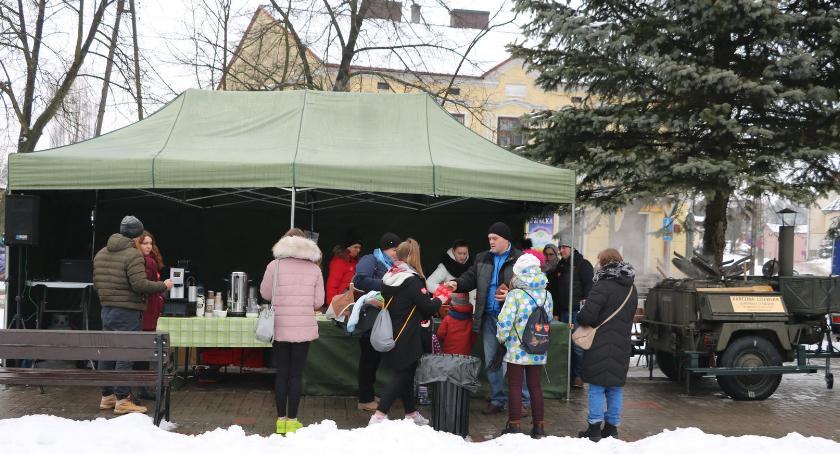 Charytatywne Wolontariat, Karczma Litewska WOŚP - zdjęcie, fotografia