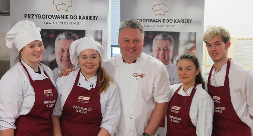 Edukacja, Warsztaty mistrzami sztuki kulinarnej ZSCKR Sejnach - zdjęcie, fotografia
