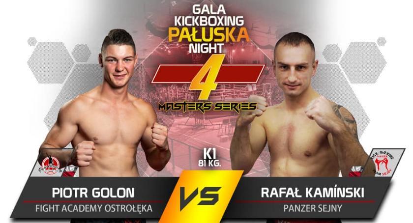 Kickboxing, Panzer Sejny Suwałkach - zdjęcie, fotografia