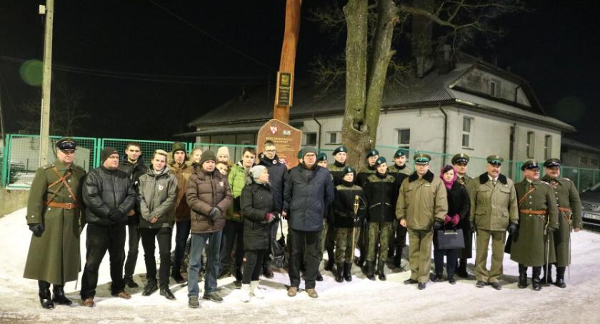 Uroczystości Obchody, rocznicę powstania styczniowego - zdjęcie, fotografia