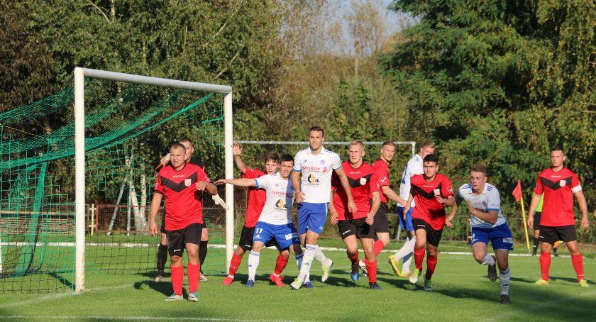 Piłka nożna, Pomorzanka Sejny Wigry Suwałki - zdjęcie, fotografia