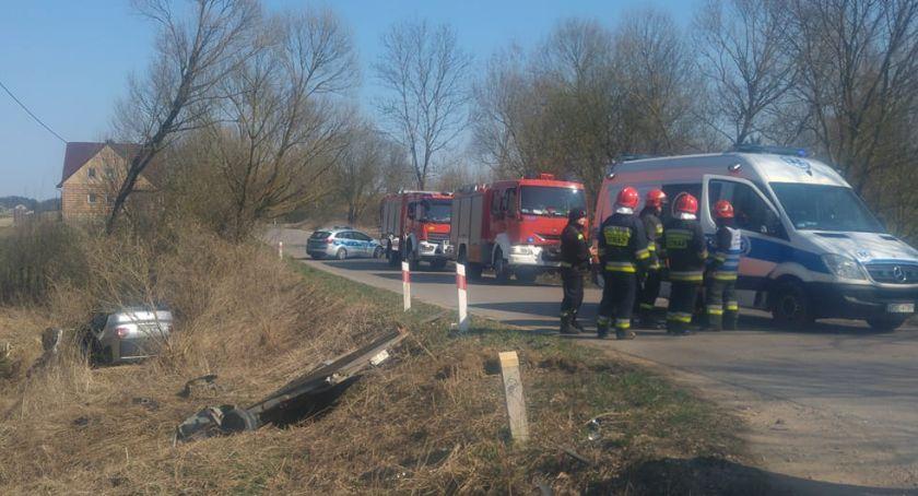 Wypadki drogowe, Niebezpiecznie podczas wyprzedzania - zdjęcie, fotografia