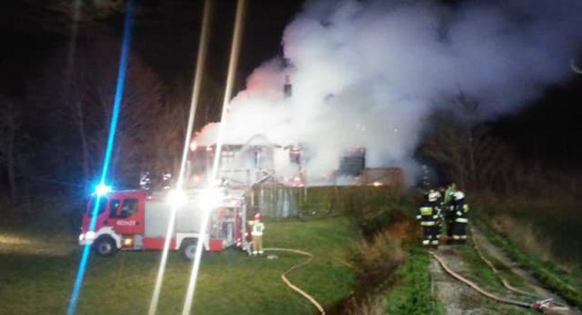 Interwencje straży i pożary, Stracili - zdjęcie, fotografia