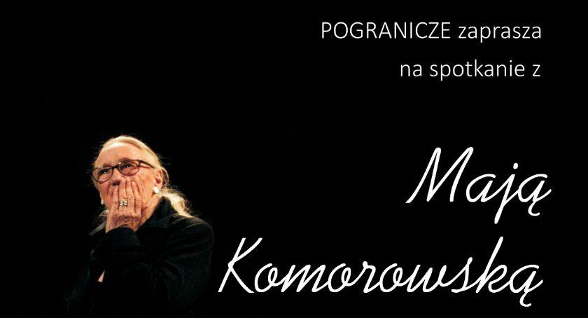Kino Film Teatr, Drugie spotkanie Mają Komorowską - zdjęcie, fotografia