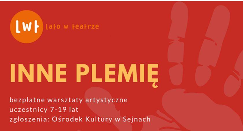 Komunikat, Plemię bezpłatne warsztaty artystyczne - zdjęcie, fotografia