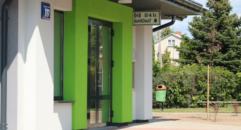 Inwestycje, Filia Banku Spółdzielczego Suwałkach nową siedzibę Krasnopolu - zdjęcie, fotografia