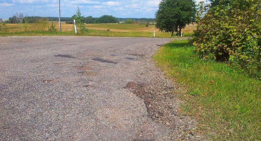 Inwestycje, remont powiatowej trasy Ogrodniki Berżniki - zdjęcie, fotografia