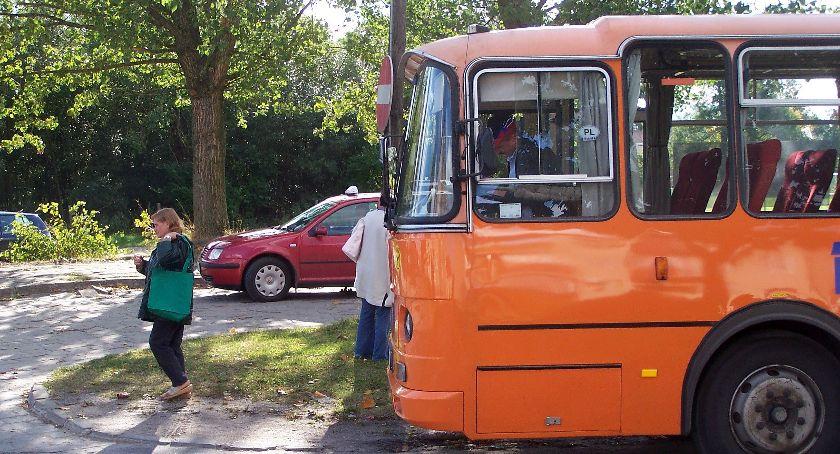 Komunikat, szansa autobus Zelwy powrotem - zdjęcie, fotografia