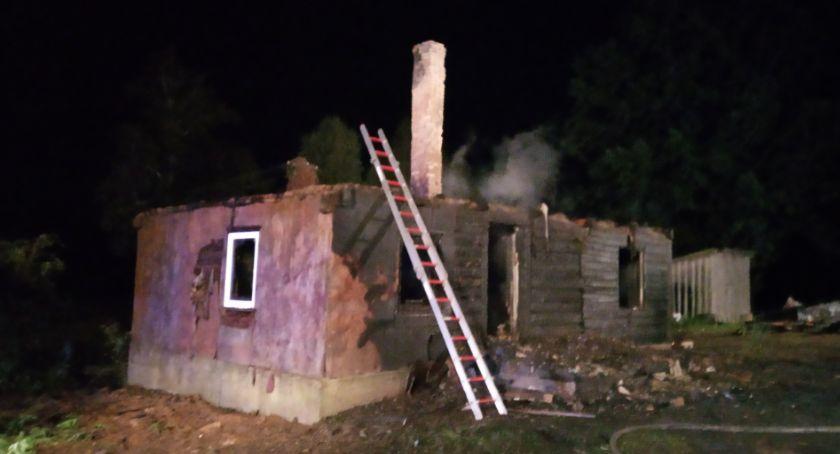 Interwencje straży i pożary, Markiszkach stracili pożarze - zdjęcie, fotografia