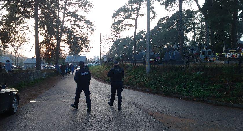 Komunikaty Policji, Znicz drogach Sejneńszczyzny - zdjęcie, fotografia