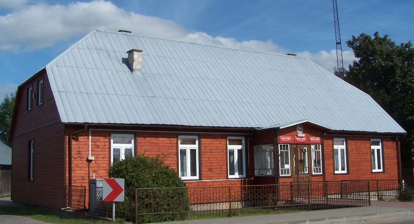 Samorząd, siedziba urzędu Krasnopolu termomodernizacji - zdjęcie, fotografia
