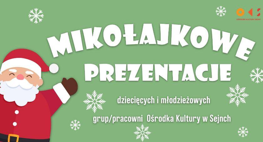 Wydarzenia kulturalne, Mikołajkowe Prezentacje - zdjęcie, fotografia