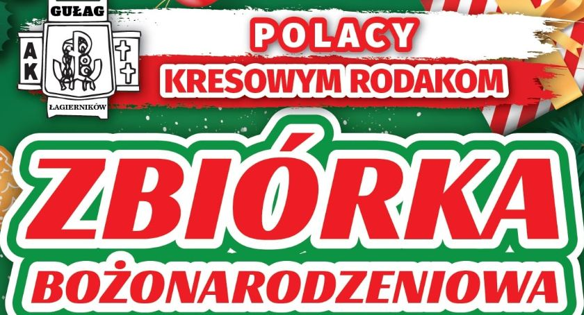 Charytatywne Wolontariat, Zbiórka Bożonarodzeniowa Polacy Kresowym Rodakom - zdjęcie, fotografia