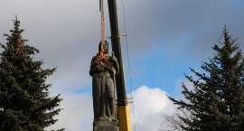 Zdemontowano pomnik