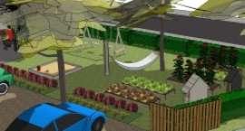 Otwarcie ogrodu społecznego w Sejnach