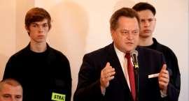 Minister Jarosław Zieliński z wizytą w Sejnach
