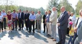 Przebudowa drogi powiatowej Sejwy - Widugiery - Sankury
