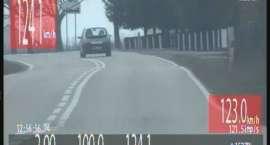 124 km/h w terenie zabudowanym