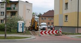 Remont zjazdów z ulicy Parkowej