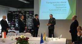 Burmistrz Sejn odznaczony przez Straż Graniczną Litwy