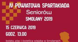 IV Powiatowa Spartakiada Seniorów (zapowiedź)