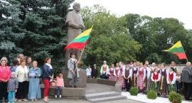 Uroczyste śpiewanie hymnu Republiki Litwy (zdjęcia i filmy)