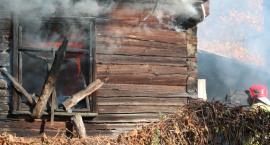 W Berżnikach spłonął dom