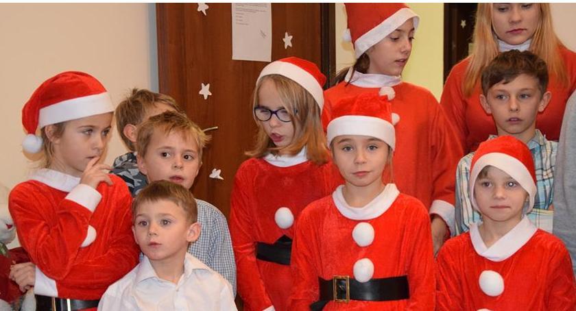 imprezy dla dzieci, Mikołaj odwiedził Dziecka Szklarskiej Porębie - zdjęcie, fotografia