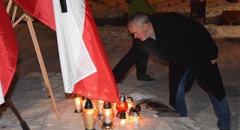 Mieszkańcy, Szklarska Poręba pożegnała Pawła Adamowicza - zdjęcie, fotografia