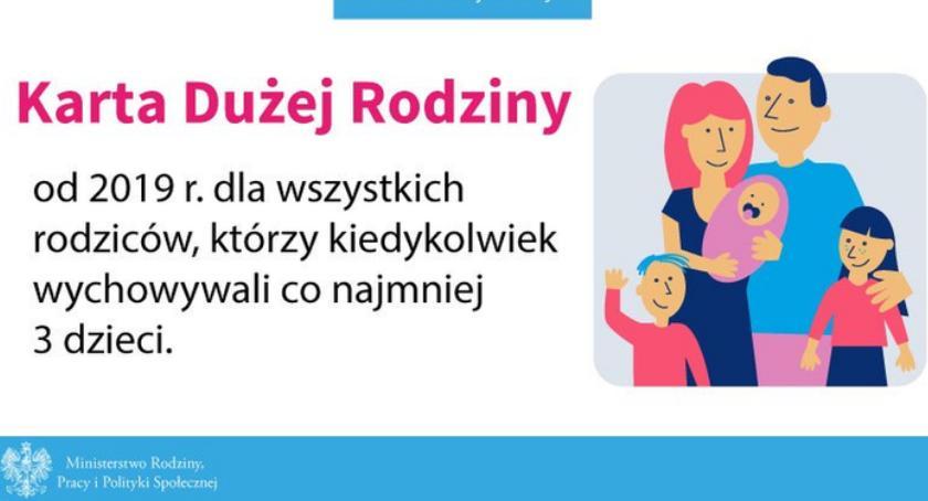 Ogłoszenia i komunikaty, ZMIANY KARCIE DUŻEJ RODZINY - zdjęcie, fotografia