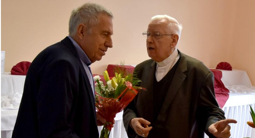 Mieszkańcy, Jubileusz biskupa Stefana Cichego - zdjęcie, fotografia