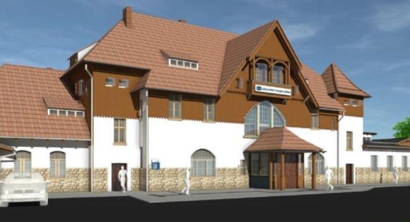 Inwestycje, Dworzec Szklarska Poręba Górna przebudowy (wizualizacje) - zdjęcie, fotografia